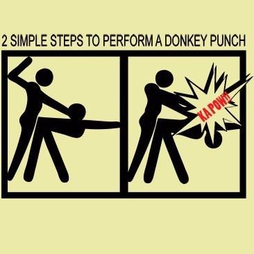 donkey punchのやり方