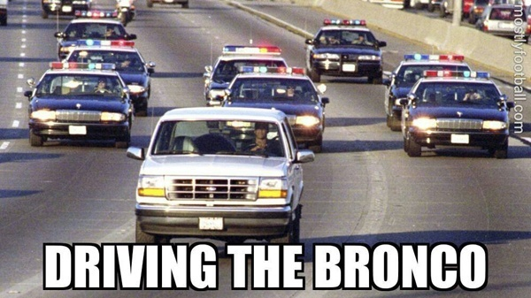driving the Broncoの英語