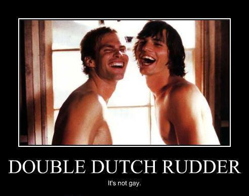 double dutch rudder